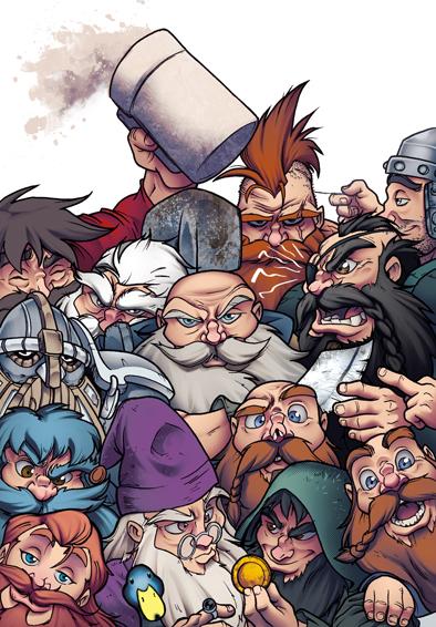 Dwarfs by Etbaal