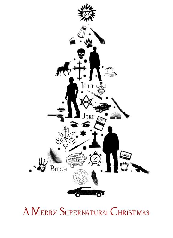 A Merry Supernatural Christmas by art4KPD