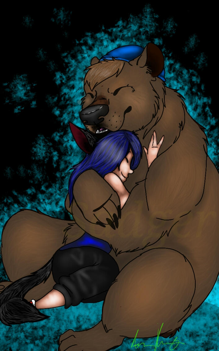 Big cuddly bear by sadger