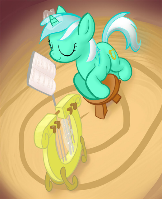 26374 Lyra Lyre Display by justbrie101