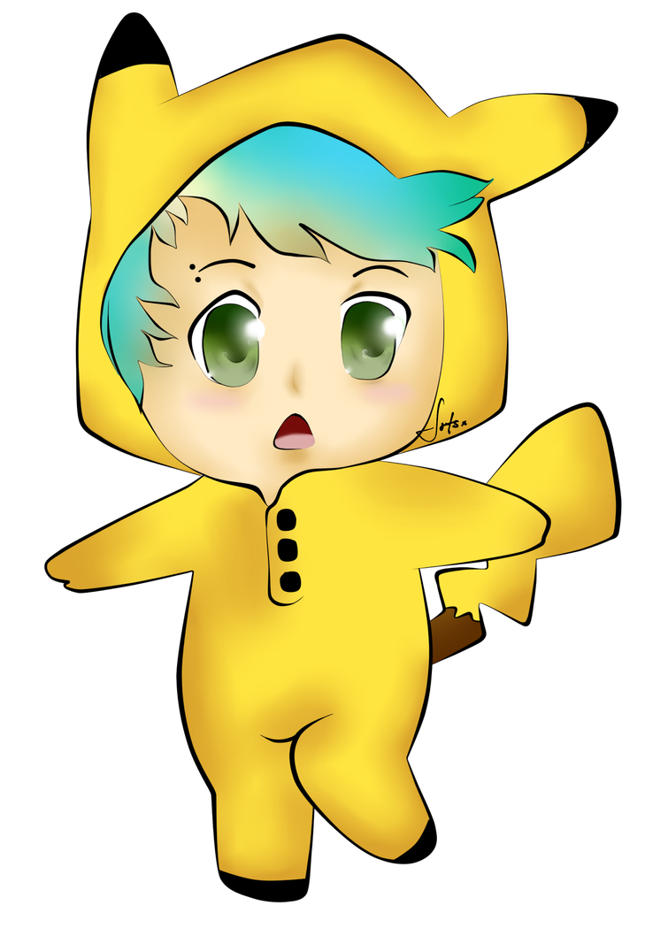Michael clifford pikachu kawaii by jos5sos on deviantart - Kawaii pikachu ...
