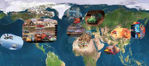 World Of Cars and Planes