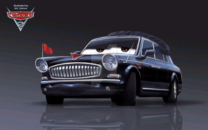 Chaircar Mao in Ericsakura's version by ChaircarMao