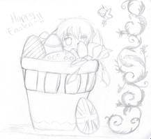 APH - Chocolate Eggs WIP by Nek0Natzumi