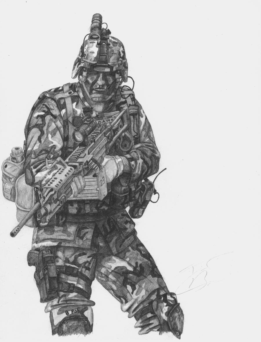 75th Army Rangers by TimB-MBM