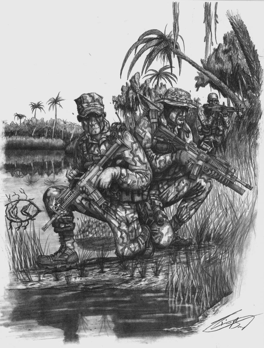 military coloring pages iraq | US Navy SEALS by TimB-MBM on DeviantArt