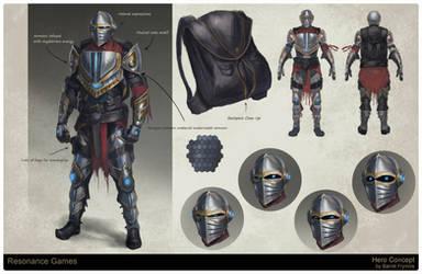 Hero Character Concept