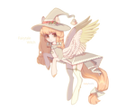 [adopt open] Fairyrale witch pony. PP ONLY by babyhoshii