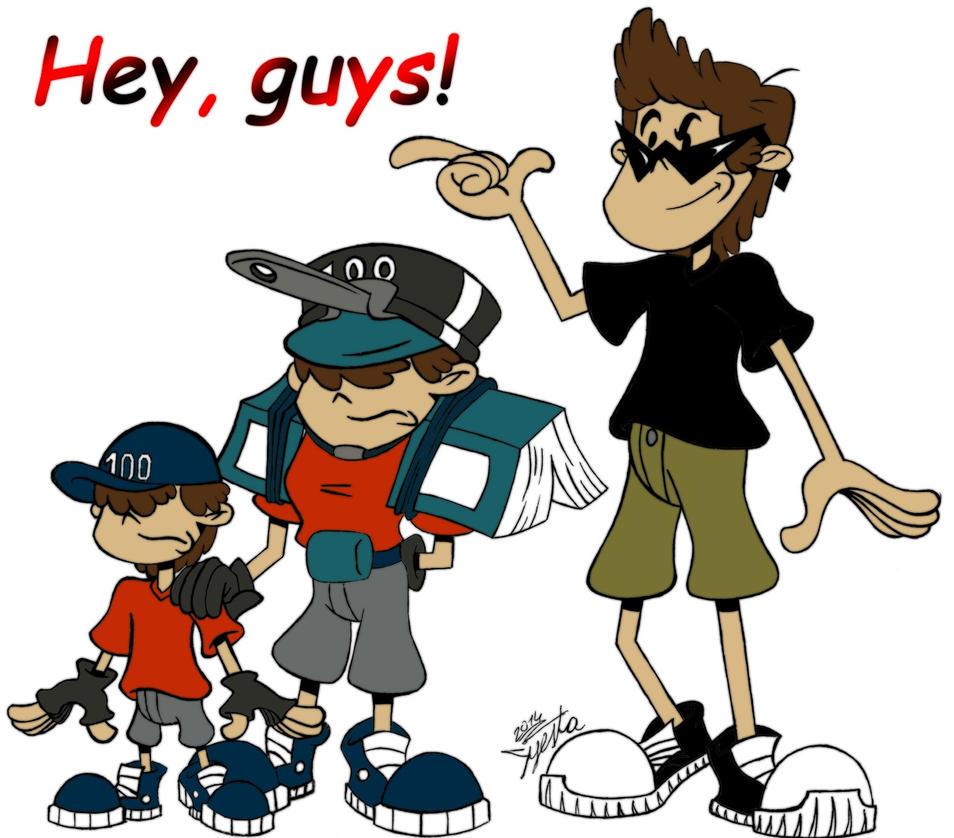 Hey, guys! by Syesta