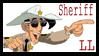 Sheriff Lucky Luke Stamp by Syesta
