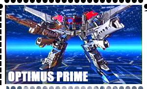 Optimus Prime Stamp by Syesta