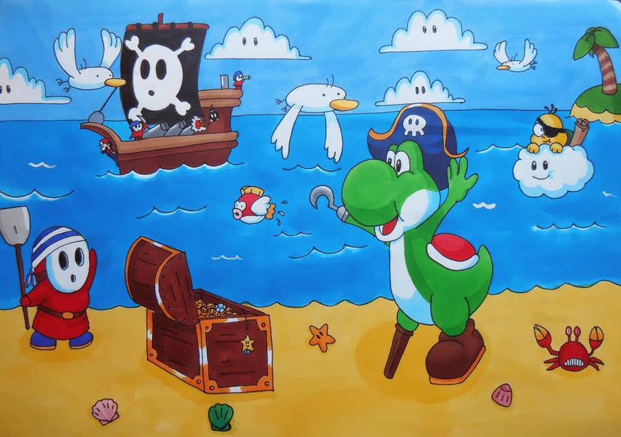pirates wallpaper mario - photo #6