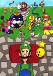 Luigi's nightmare by hae-chan