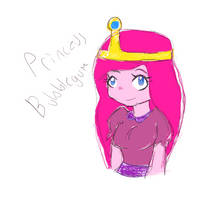 Princess Bubblegum by royalshame