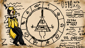 Bill Cipher by royalshame