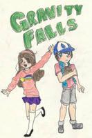 Gravity Falls Anime by royalshame