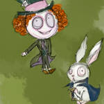 Rabbit and Mad Hatter