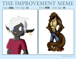 ANOTHER YEAR ANOTHER IMPROVEMENT MEME by royalshame