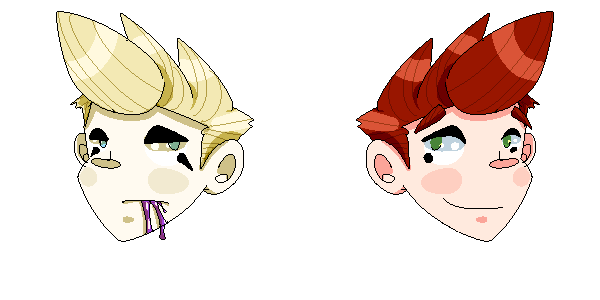 Danny and Davey Pixel by royalshame
