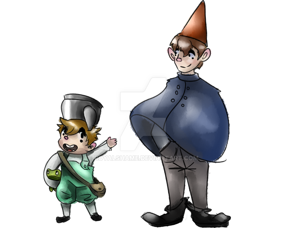 Over the garden wall by royalshame