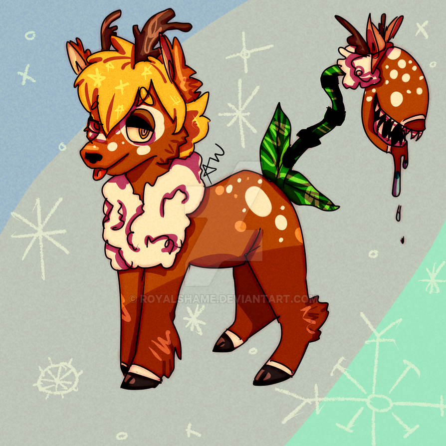 Reindeer bab by royalshame