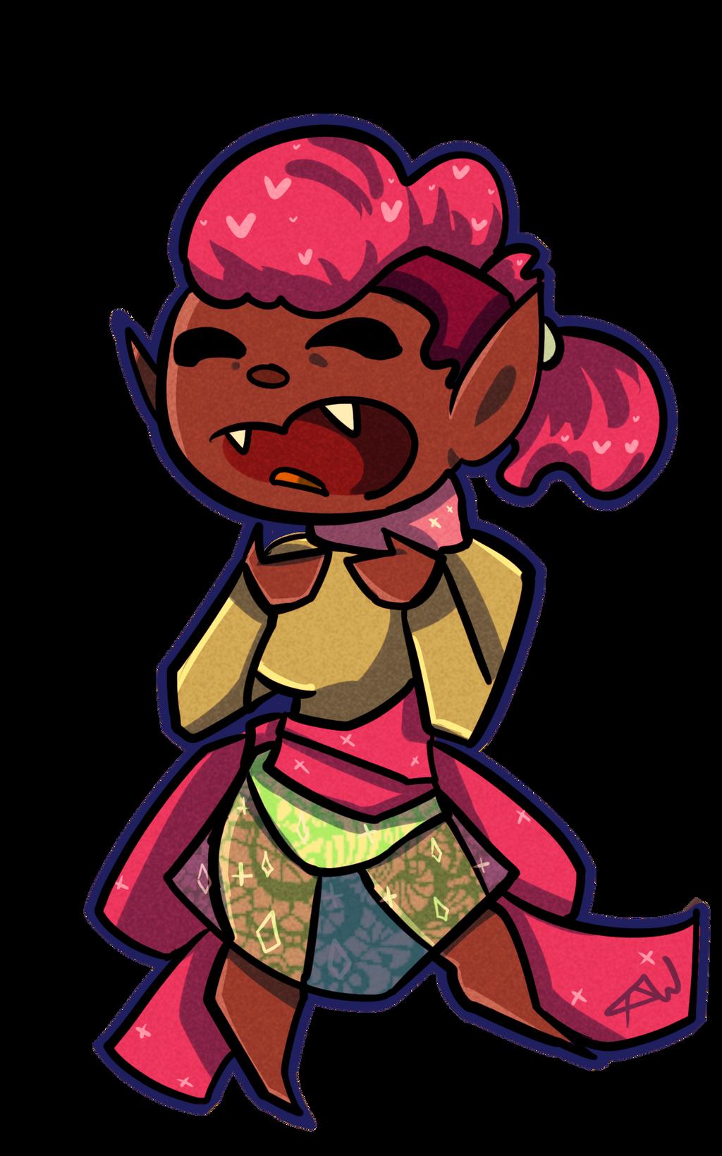 Chibi vamp by royalshame