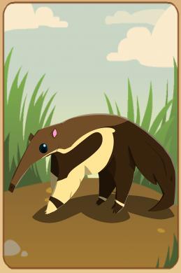 Animal Jam Anteater by royalshame