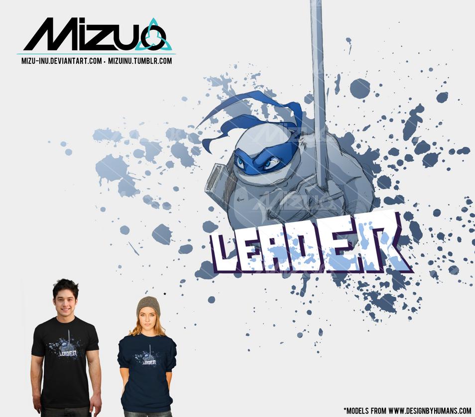 Mutant Ninja Leader by Mizu-Inu