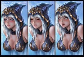 Ashe/LoL Hentai Package by alexanderdinh