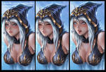 Ashe/LoL Hentai Package