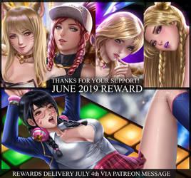 Patreon reward JUNE 2019 by alexanderdinh