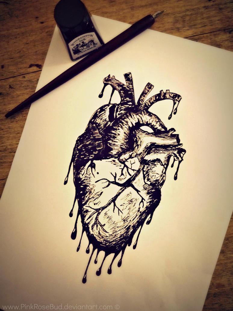 Bleeding Heart by PinkRoseBud
