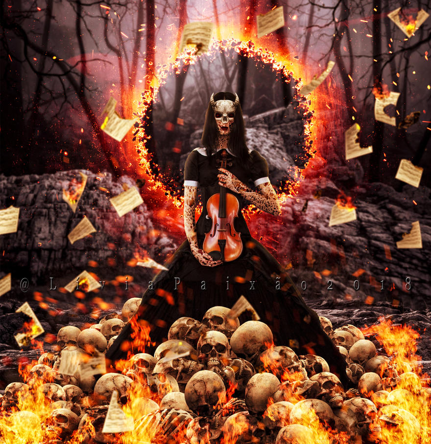 Music of the Death by liviapaixao