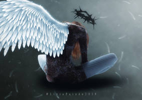 Thorned Angel by liviapaixao