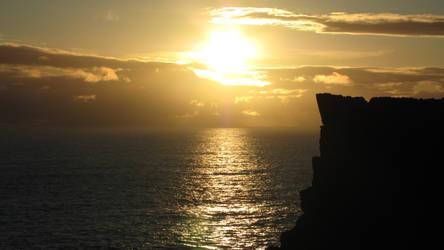 Sunset tonight by Heylormammy