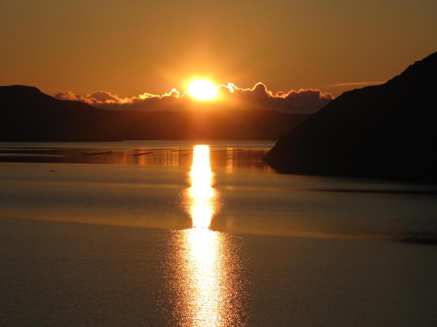 Golden evening by Heylormammy