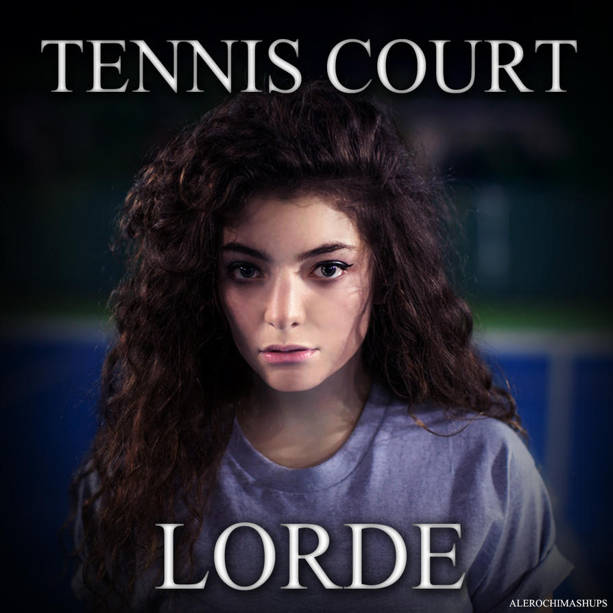 Lorde's 'Tennis Court' Is 3 Minutes of Lorde -- Literally |Lorde Tennis Court
