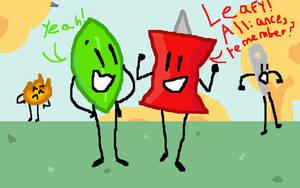 Leafy! Alliance, remember? by SmallKittyUniverse