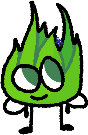 Grassy - BFB by SmallKittyUniverse on DeviantArt