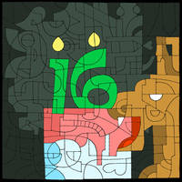 Happy 16th Birthday Deviantart!