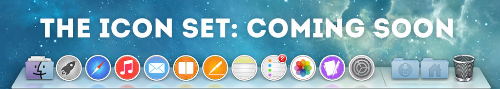 OSX Icon Set by Luke O'Sullivan: Coming Soon