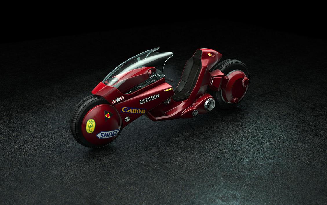 Akira Bike 2012 by Catetas