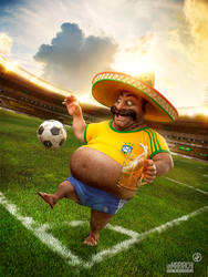 Un Mariachi - World Cup Brazil 2014 by Catetas