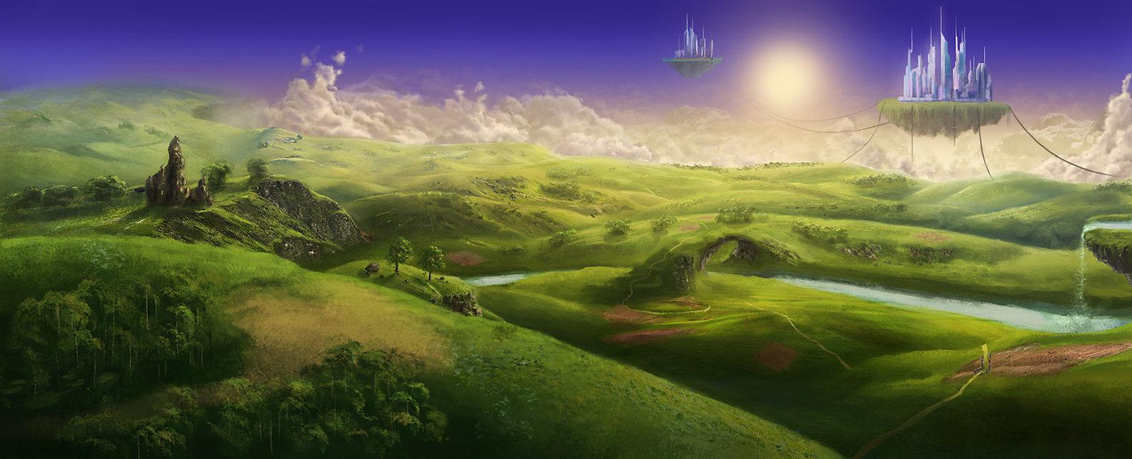 fantasy landscapelac-tic on deviantart