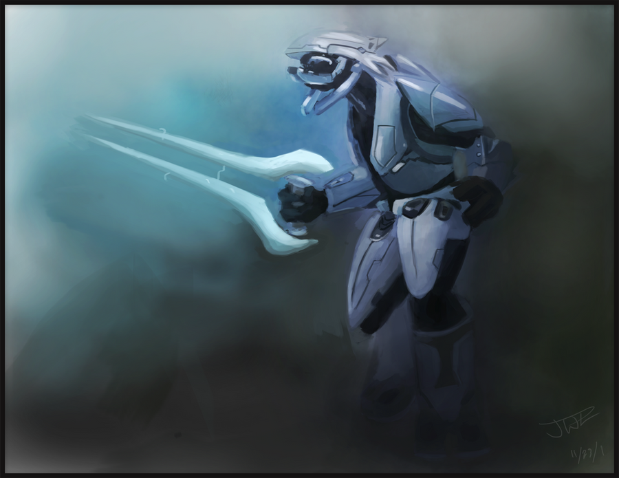 Halo Elite Speedpainting by wongSlam