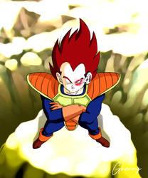 Dragon Ball Z - Vegeta (Alternate Colors) by ghenny-illustrations