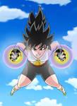 Dragon Ball Z Commission - OC Lettusa by ghenny-illustrations