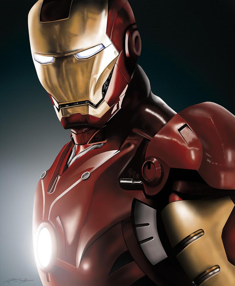 Iron Man by jokerproduct