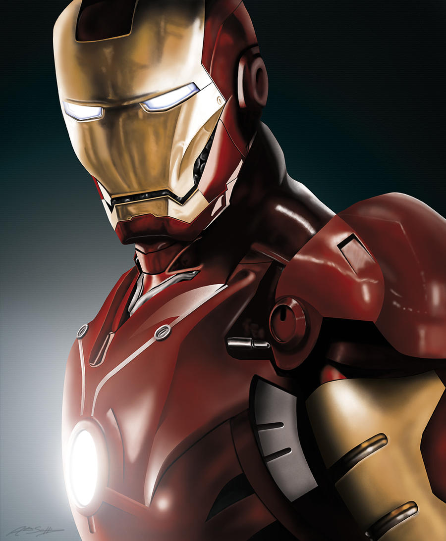 Iron Man by jokerproduct
