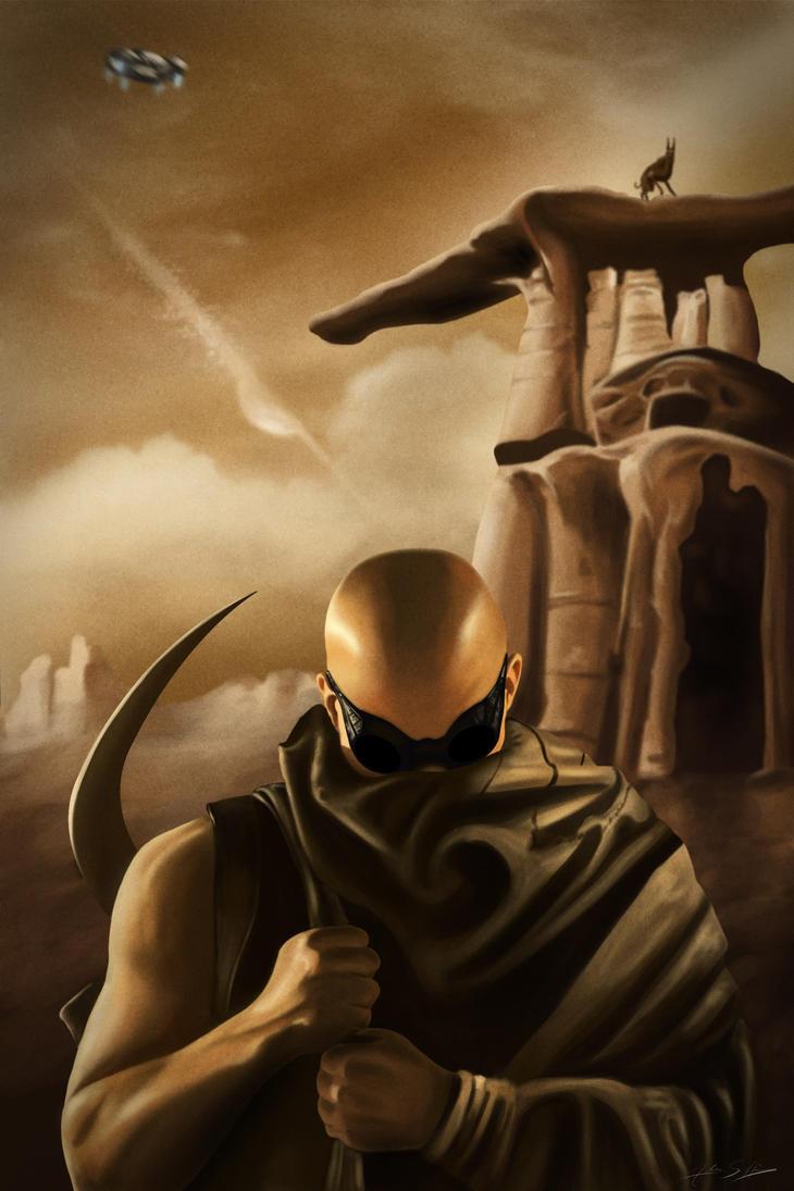 Riddick by jokerproduct
